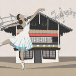 ballet chalet illustration