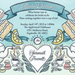 Bridal Shower Invitation Tea Party